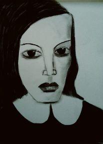 Kohlezeichnung, Schwarz, Zeichnungen