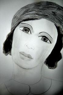 Zeichnungen, Junge, Frau