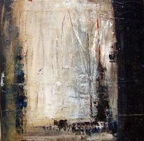 Malerei, Hafen, Blick