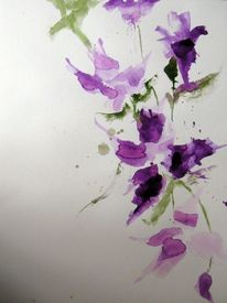 Malerei, Clematis