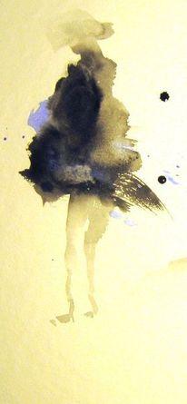 Aquarellmalerei, Skizze, Nass, Aquarell