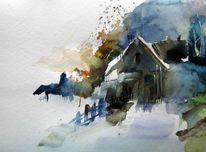 Malerei, Kurz, Frühling