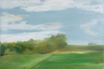 Ölmalerei, Wolken, Landschaft, Himmel