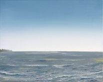 Welle, Malerei, Realismus, Meer
