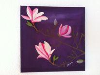 Malerei, Magnolien