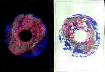 Bagel, Malerei, Abstrakt