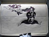 Birne, Zeichnungen,