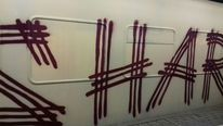 Schaden, Zug, Graffiti, Fotografie