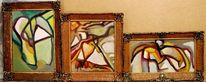 Abstrakter expressionismus, Malerei, Herz, Stille