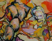 Impressionismus, Disponibil, Hart, Portrait