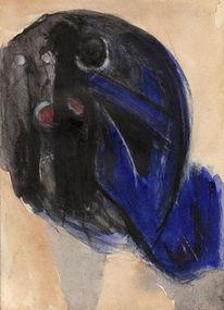 Traum, Blau, Nonsens, Malerei