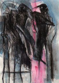 Surreal, Abstrakt, Nacht, Malerei