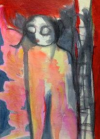 Rot, Traum, Psyche, Malerei