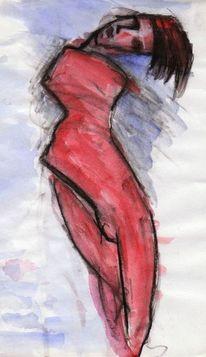 Rot, Figural, Malerei