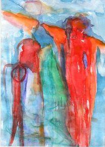 Rot, Kalt, Surreal, Malerei
