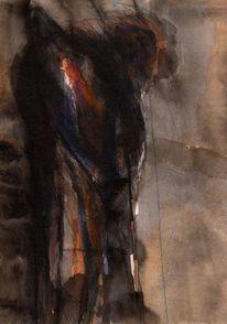 Braun, Nacht, Surreal, Abstrakt