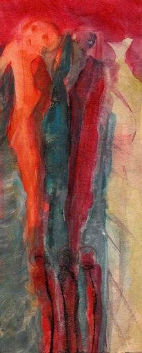 Wahn, Rot, Surreal, Malerei