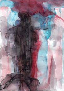 Rot, Surreal, Abstrakt, Figural