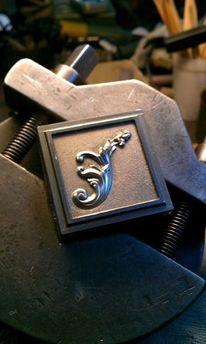 Relief Ornament Gravur