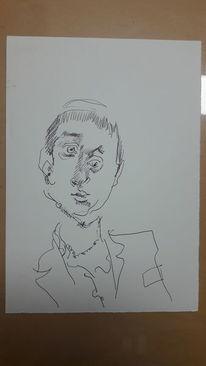 Mann, Unschuldig, Ignoranz, Zeichnungen