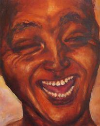 Lachen, Ausdruck, Licht, Malerei