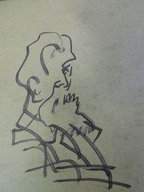 Frisur, Stolz, Anzug, Zeichnungen