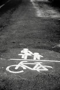 Straße, Abgenutzt, Gelebt s, Verkehr