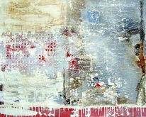 Marmormehl, Alt, Acrylmalerei, Vergänglichkeit