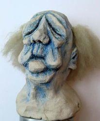 Falten, Fell, Skulptur, Ton