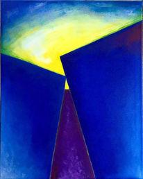 Blau, Grafik, Malerei, Acrylmalerei