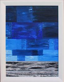 David weiß, Acrylmalerei, Zeitgenössische kunst, Malen