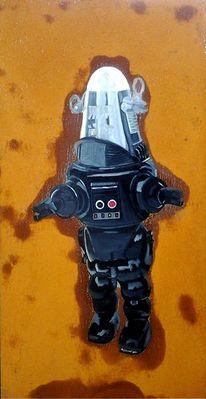 Kunstrost, Milan art, Rostkunst, Roboter