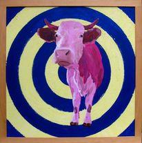 Kuh, Landenhausen, Kuhkünstler, Malerei