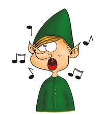 Singen, Brauch, Weihnachten, Wichtel
