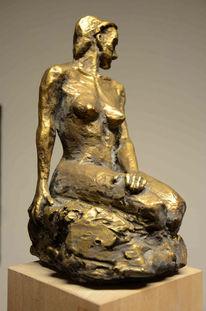 Gedanken, Surreal, Statue, 3d