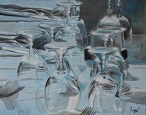 Glas, Sonne, Fest, Reflektionen
