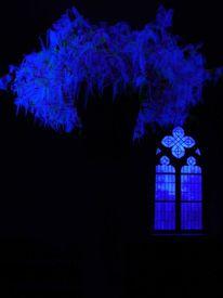Blau, Feder, Kapelle, Kirche