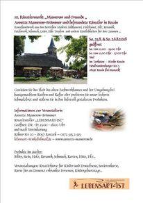 Holzkünstler, Textieles, Silberschmuck, Kunsthandwerkermarkt