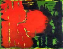 Erwachen, Acrylmalerei, Malerei