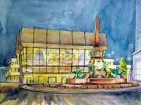 Gewandhaus, Haus, Mendebrunnen, Architektur