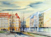 Leipzig, Romanushaus, Brühlarkaden, Brühl