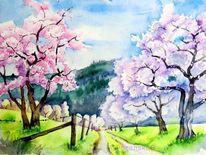 Fruhling Landschaft Malerei 863 Bilder Und Ideen Malen Auf