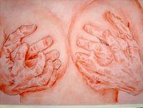 Hand, Hände, Akt, Zeichnungen