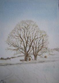 Unterammergau, Kapelle, Winter, Schnee