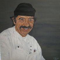 Koch, Italien, Pizza, Pepino