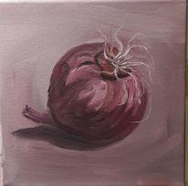 Zwiebeln, Gemüse, Genuss, Malerei