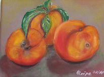 Früchte, Pastellmalerei, Ernte, Malerei
