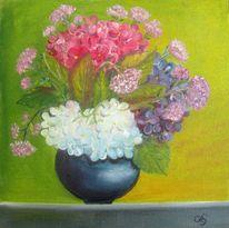 Pflanzen, Blüte, Blumen, Hortensien