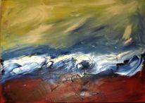 Ölmalerei, Finger, Gefühl, Malerei