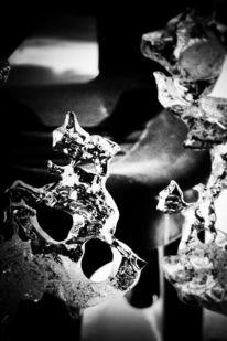 Schwarzweiß, Fotografie, Eis